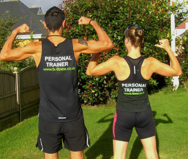 The FX Fitness running coaches