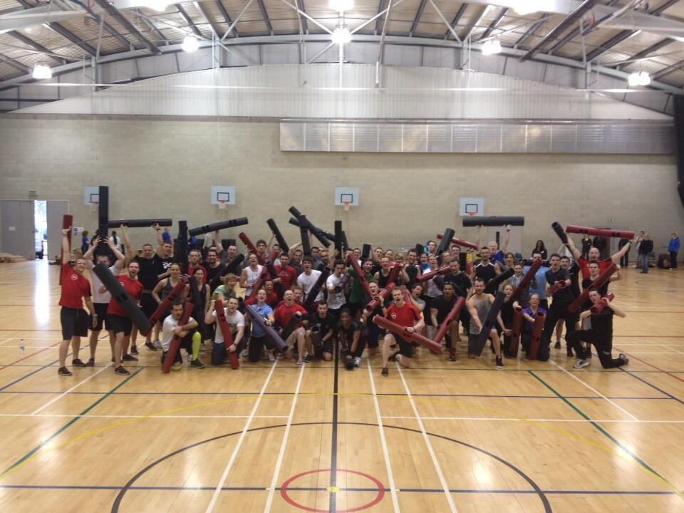 ViPR workout group shot